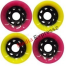 Powerslide Juicy Susi - Shady Lady 60x45mm / 78A yellow/pink 4 db