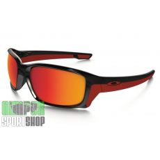 OAKLEY Straightlink Polished Black Torch Iridium Polarized