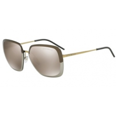 Emporio Armani EA2045 31245A PALE GOLD LIGHT BROWN MIRROR GOLD napszemüveg
