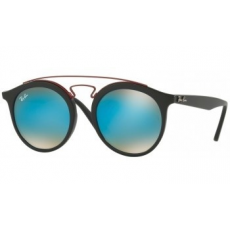 Ray-Ban RB4256 6252B7 MATTE BLACK MIRROR GRADIENT BLUE napszemüveg