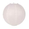 Lampion rizspapírból, 40 cm fehér