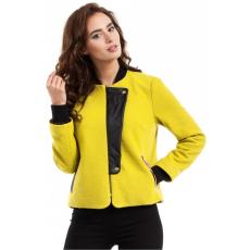 moe Kabát női MOE247 mustár