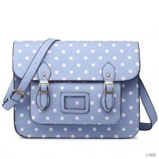 Miss Lulu London LT1665D2 MISS LULU bőr nagyméretű CAMhíd STLYE táska táska kék