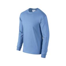 GILDAN hosszú ujjú környakas póló, carolina kék