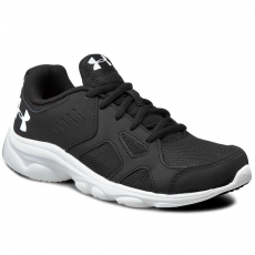 Under Armour Cipők UNDER ARMOUR - Ua Bgs Pace Rn 1272292-001 Blk/Wht/Wht