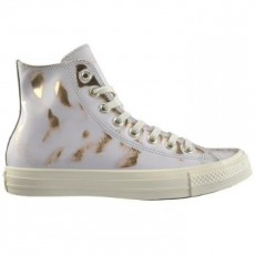 Converse Chuck Taylor All Star Hi Leather női tornacipő, Buff/Light Gold, 40 (553300C-107-9)