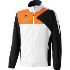 Erima Premium One Presentation Jacket fehér/fekete/neon narancs melegítő felső