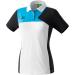 Erima Premium One Polo-shirt fehér/fekete/világos kék galléros poló