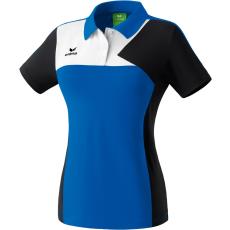 Erima Premium One Polo-shirt kék/fekete/fehér galléros poló