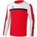 Erima 5-CUBES Training Sweater piros/fehér/fekete pulóver
