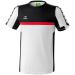 Erima 5-CUBES T-Shirt fehér/fekete/piros poló