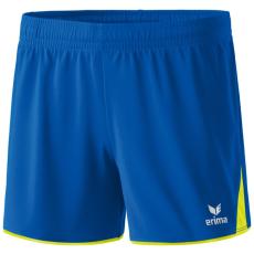 Erima 5-CUBES Shorts kék/fluo sárga rövidnadrág