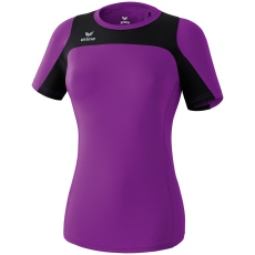 Erima Race Line Running T-Shirt lila/fekete poló