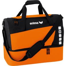 Erima Sports Bag with Bottom Compartment narancs/fekete táska