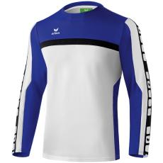 Erima 5-CUBES Training Sweater fehér/kék pulóver