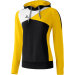Erima Premium One Hoody fekete/sárga/fehér pulóver