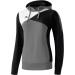 Erima Premium One Hoody szürke/fekete/fehér pulóver