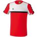 Erima 5-CUBES T-Shirt piros/fehér/fekete poló
