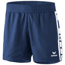 Erima 5-CUBES Shorts sötétkék/fehér rövidnadrág