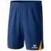 Erima 5-CUBES Shorts sötétkék/fluo narancs rövidnadrág