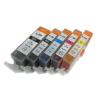Canon PGI-525Bk - CLI-526 CMYBk set - 5db-os utángyártott chipes patron csomag