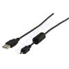 Kőnig-HQ USB A - mini USB összekötő kábel CABLE-299