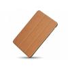 Hoco - Cube series nyomott mintázatú iPad mini 1/2/3 tablet tok - barna