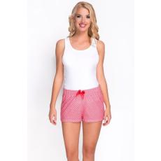 Babella Alvó rövidnadrág Model 3091-1 fehér/piros