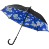 . Duplafalú esernyő, felhős