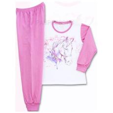 PAMPRESS Lovas pizsama - nyers/pink