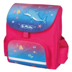 Herlitz óvodás hátizsák - delfines hátizsák ergonómikus háttal
