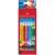 Faber castell Grip színesceruza radírvéggel - 10 darabos