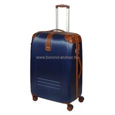 DIELLE kék négykerekű nagy bőrönd 155-L