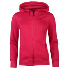LA Gear Női kapucnis cipzáras pulóver pink XL