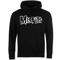 Official Misfits férfi kapucnis cipzáras pulóver mintás S