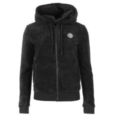 Roxy Andrea női kapucnis cipzáras pulóver sötétszürke S
