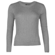 Golddigga Rib női kötött pulóver szürke XL