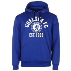 Source Lab Chelsea férfi kapucnis pulóver királykék S