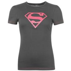 DC Comics Superman női póló sötétszürke XS