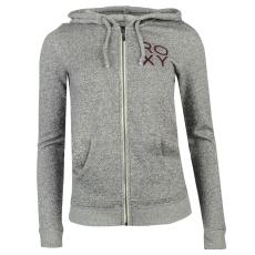 Roxy Basic női kapucnis polár pulóver szürke XL