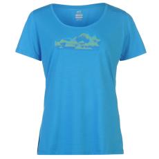 Millet Soft női póló kék M