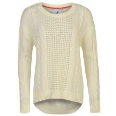 Kangol Cable női kötött pulóver bézs M