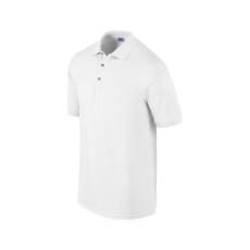 GILDAN ultra, galléros póló, fehér