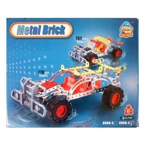 Terepjáró autó 146 darabos fém építőjáték