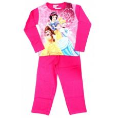 gyerek pizsama PRINCESS - Hercegnők -sötét rózsaszín - méret: 92