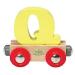 VILAC Q - mágneses fa betű vagon