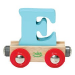 VILAC E - mágneses fa betű vagon