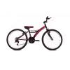 """Adria Stinger 24"""" gyerek kerékpár fekete-rózsaszín"""