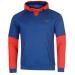 Lonsdale Sport Over The Head férfi kapucnis pulóver kék M