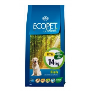 Ecopet Natural Farmina Ecopet Natural Fish Medium 14 kg